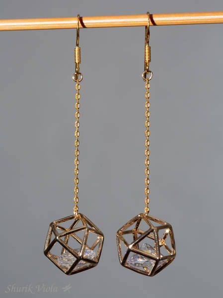 Earrings  / Boucles d'oreilles - Shurik Viola