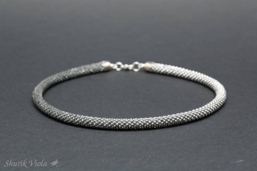 Necklace or two turns bracelet / Collier ou bracelet à deux tours - Shurik Viola